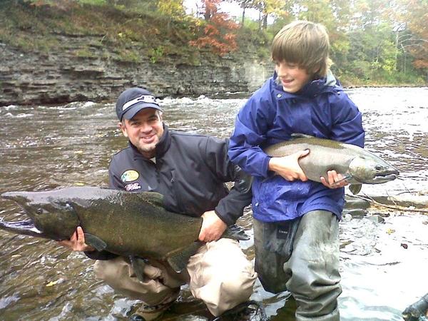 Coldsteel Sportfishing Salmon River and Lake Ontario Fishing